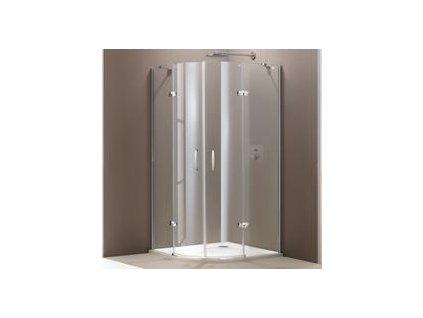 5312 huppe aura stvrtkruhovy kut sprchovy sirka 100cm 2 kridlove dvere 400802092322