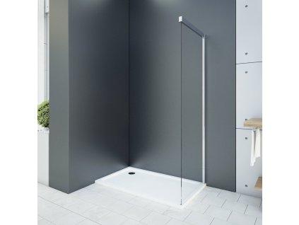 Aquatek Wellness F1, pevná sprchová stena, šírka 70 100cm 01