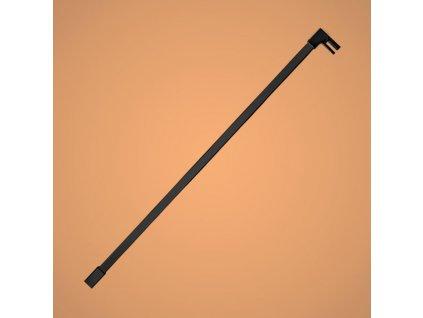 Aquatek Oasis T4 black 120, rovná konzola hranatá, dĺžka 120cm