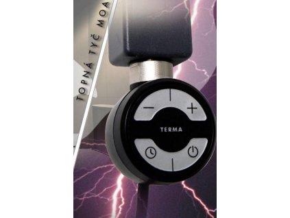 Očenášek MOA, elektrická vykurovacia tyč, 400W, 5-stupňová regulácia (Farba Chrómová farba)