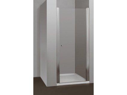 Arttec Moon, sprchové dvere šírka 75cm, otváravé celokrídlové (Farba skla Sklo grape)