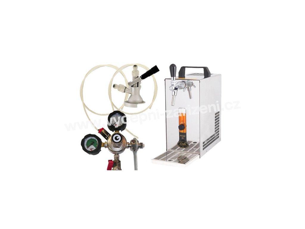 Pivní chlazení PYGMY 20 - komplet red. ventil N2 PLOCHÝ