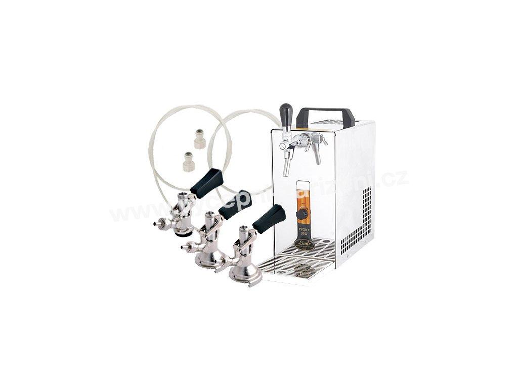 Výčepní zařízení PYGMY 20/K Green Line komplet 3 x naražeč  + Alkoholtester zdarma