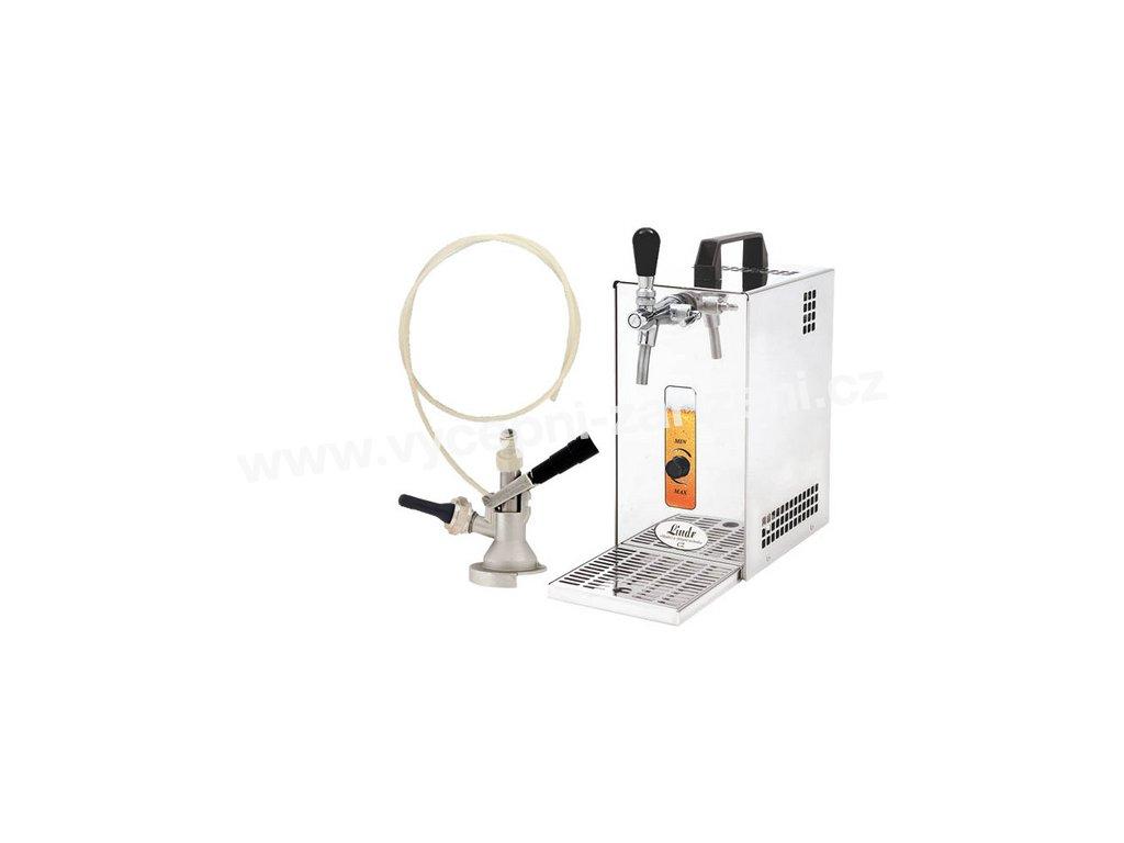 Pivní chlazení PYGMY 25 Green Line - komplet s autoventilkem PLOCHÝ (bez kompresoru)  + Alkoholtester zdarma