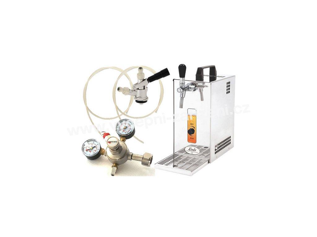 Pivní chlazení PYGMY 25 - komplet red. ventil CO2 BAJONET  + Alkoholtester zdarma