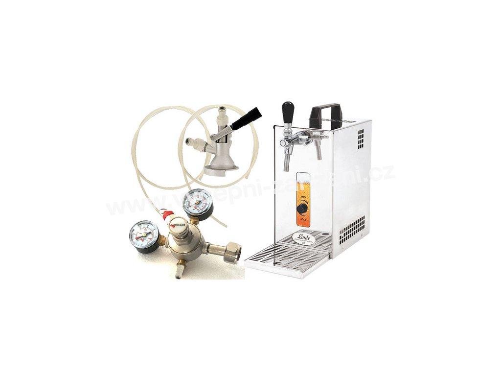 Pivní chlazení PYGMY 25 - komplet red. ventil CO2 PLOCHÝ  + Alkoholtester zdarma