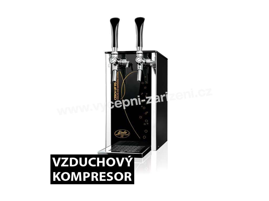 Výčepní zařízení PYGMY 25/K Exclusive 2xkohout  + Dárek zdarma