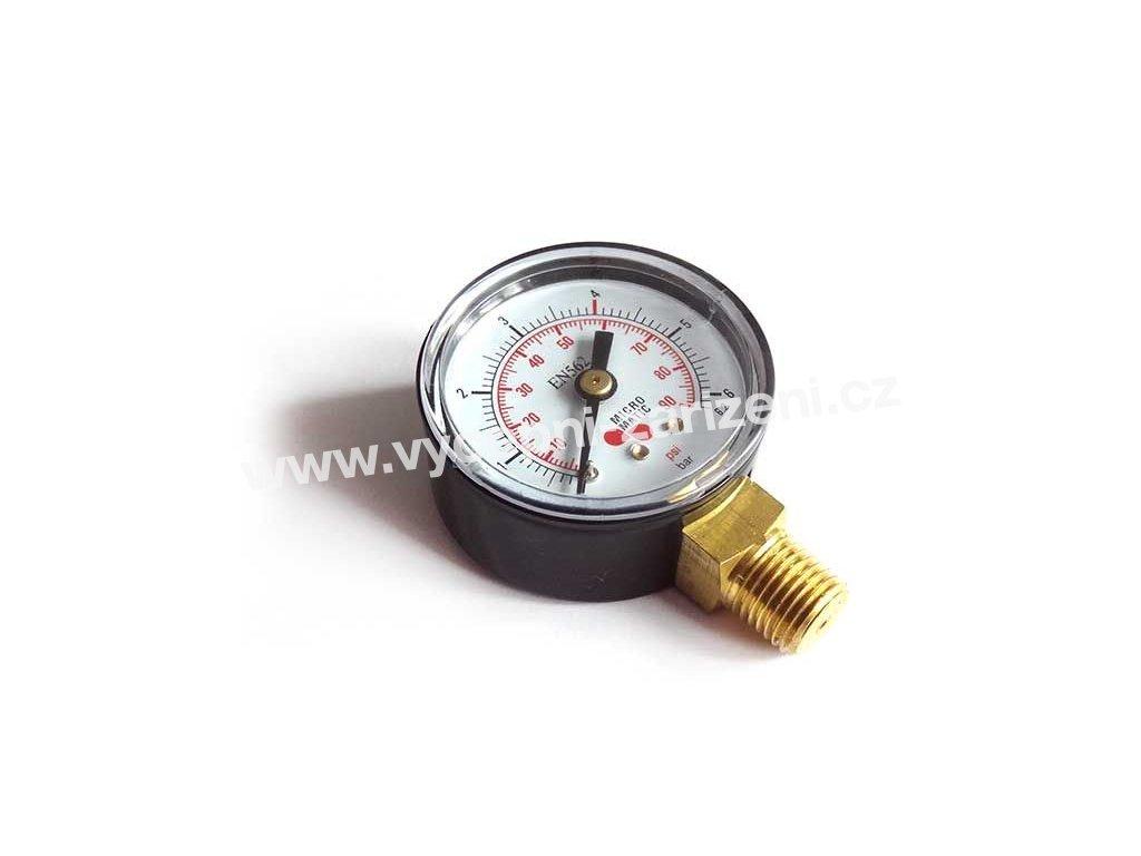 red ventil manometr prac tlak co2 n2