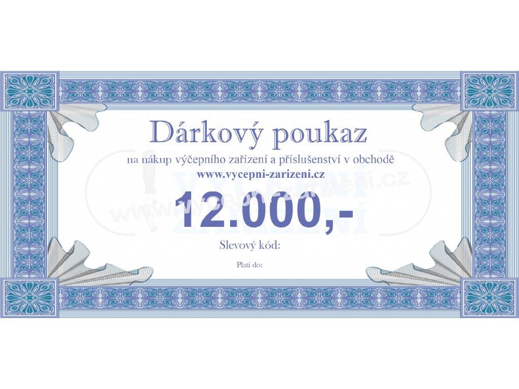 Dárkový poukaz 12.000,-