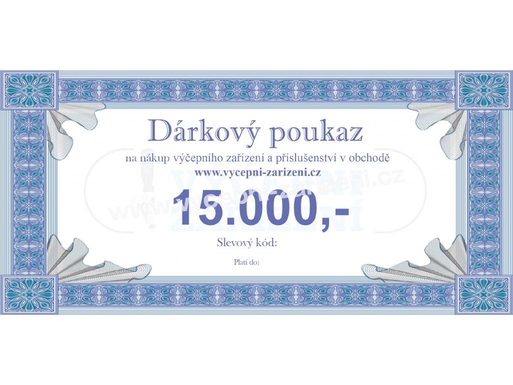 Dárkový poukaz 15.000,-