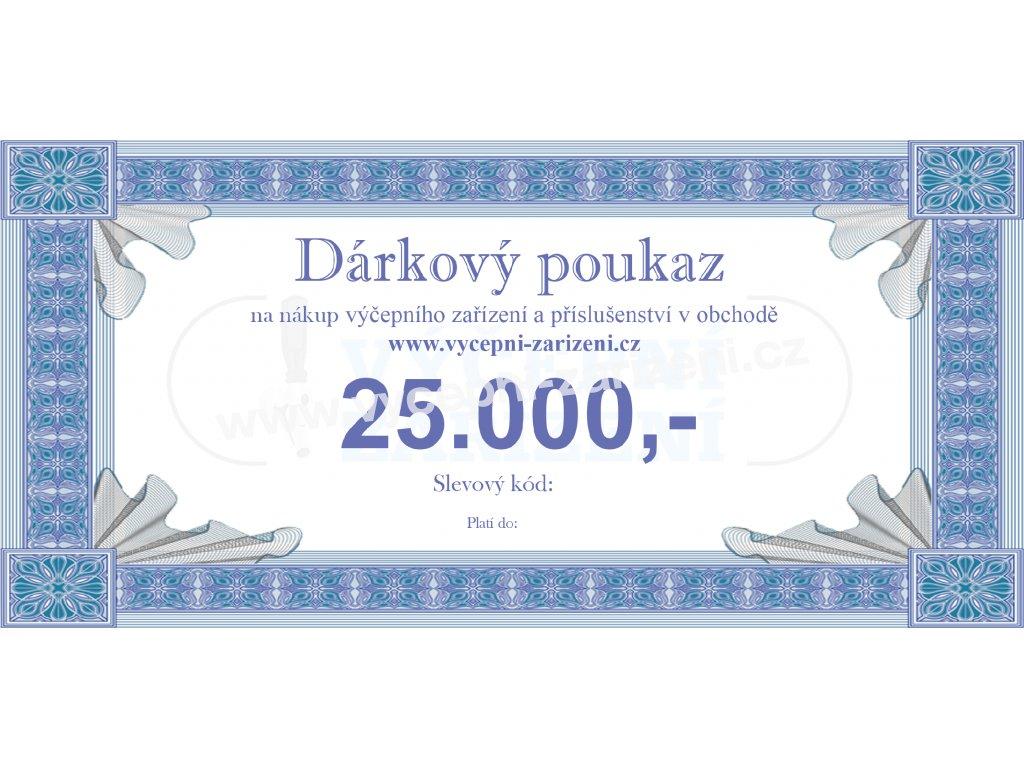 Dárkový poukaz 25.000,-