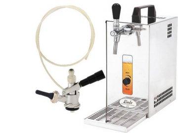 Pivní chlazení PYGMY 25 - komplet s autoventilkem BAJONET (bez kompresoru)