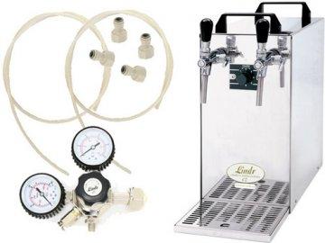 Pivní chlazení KONTAKT 40 Green Line s redukčním ventilem N2 bez naražečů  + Alkoholtester zdarma