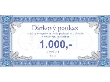 Dárkový poukaz 1.000,-