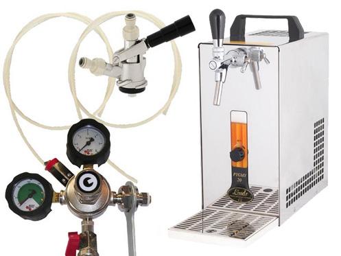 Pivní chlazení PYGMY 20 - komplet red. ventil N2 BAJONET