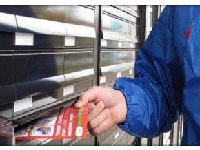Roznášení letáků do poštovních schránek
