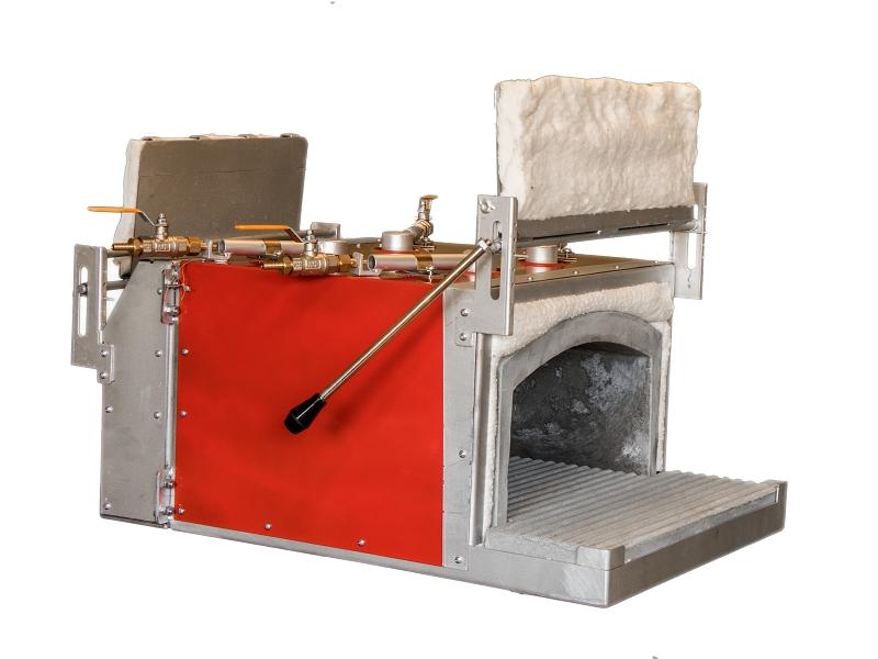 Výhody plynových kovářských výhní