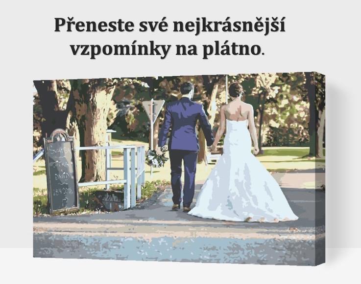 Malování podle čísel krásné vzpomínky| Vymalujsisam.cz