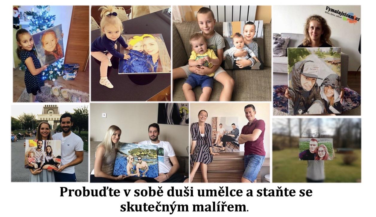 Malování podle čísel vlastní fotka | Vymalujsisam.cz