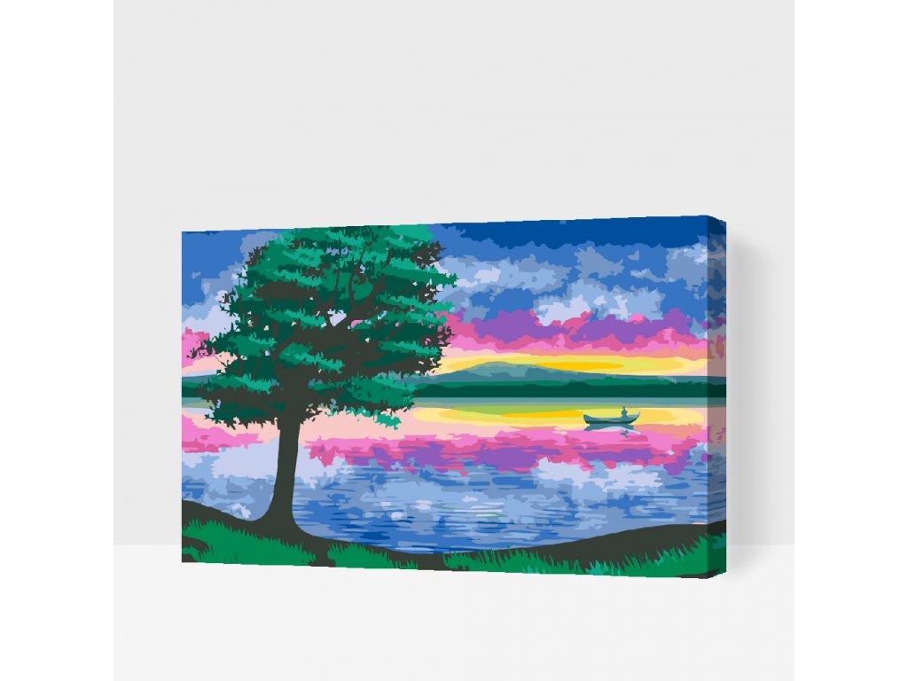 Malování podle čísel - Kouzlo přírody (Rámování Bez rámu (pouze plátno), Velikost 40x60cm)