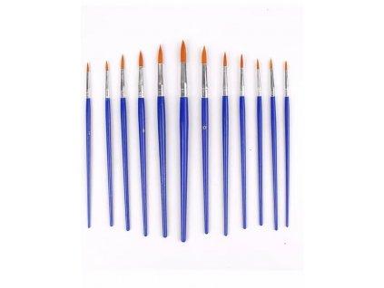 1025 sada umeleckych stetcov modre 12ks