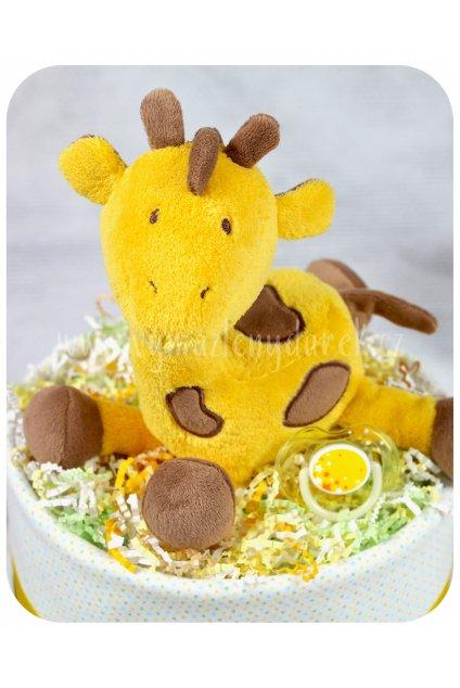 Jednopatrový plenkový dort Žofinka detail 1