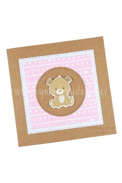 Příní k narození miminka #1 růžové