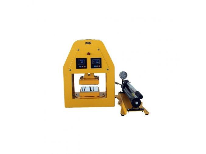 163392 rosin press hydraulicky lis 20 tun vyhrivana lisovaci plocha 12x12cm