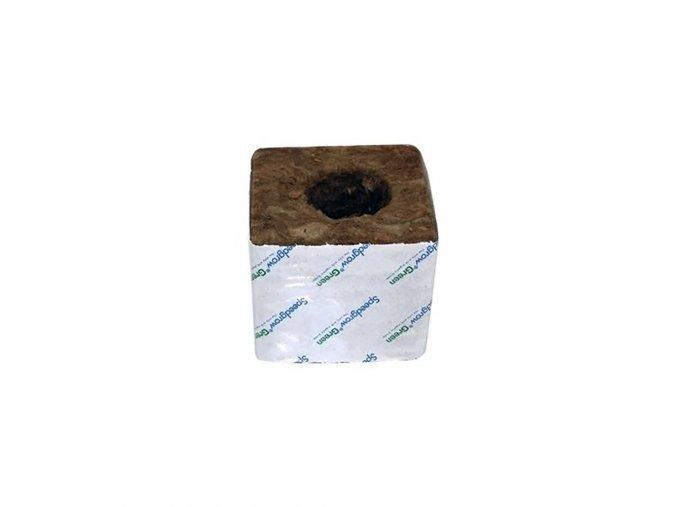 163881 1 agra wool agra wool kostka 10 10 cm s velkou dirou 3 5 cm krabice 120 ks