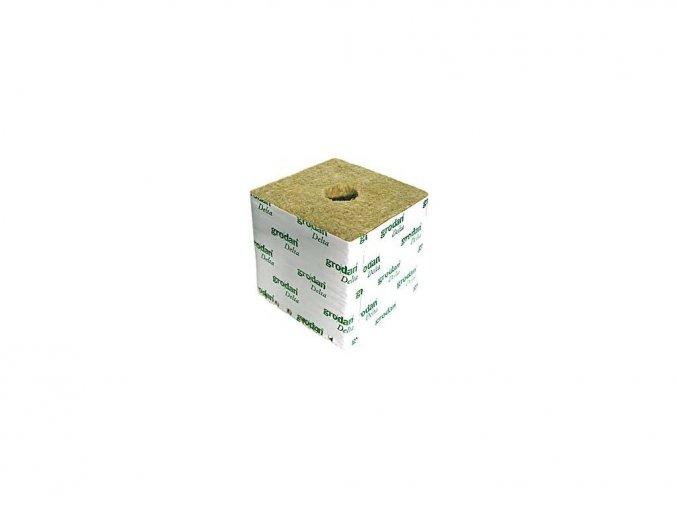 165876 grodan pestebni kostka velka 100x100x65mm s malou dirou box 216 ks