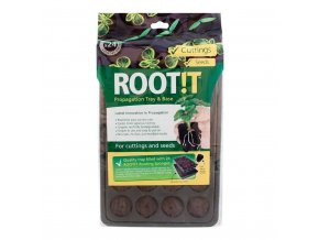 162183 root t natural rooting sponge 24 cell filled trays