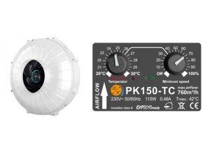 167820 1 ventilator prima klima pk150 l 1 rychlostni 760 m3 h 150 mm