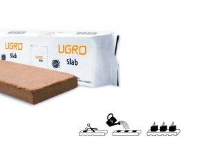 Lisovaný kokos U Gro Slab - pěstební rohož dehydrovaná 15l