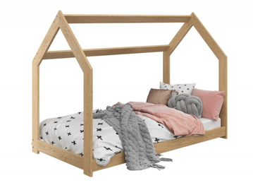 Návod na posteľ DOMČEK D2