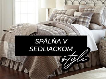 Sedliacky štýl: Romantická spálňa s nádychom vidieka
