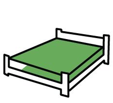 Posteľ s matracom