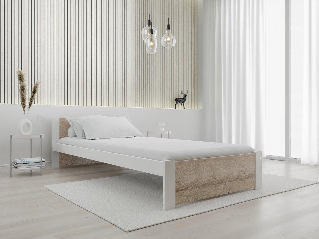 Posteľ IKAROS 90 x 200 cm, biela