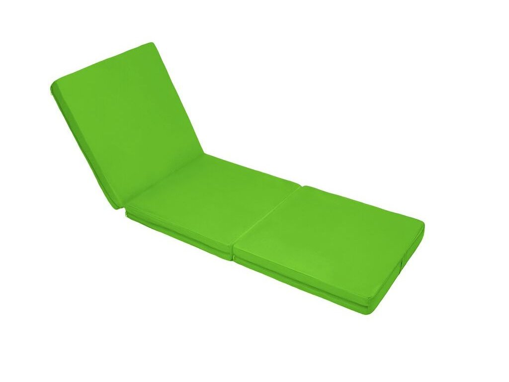 Skladacia matrac zelená