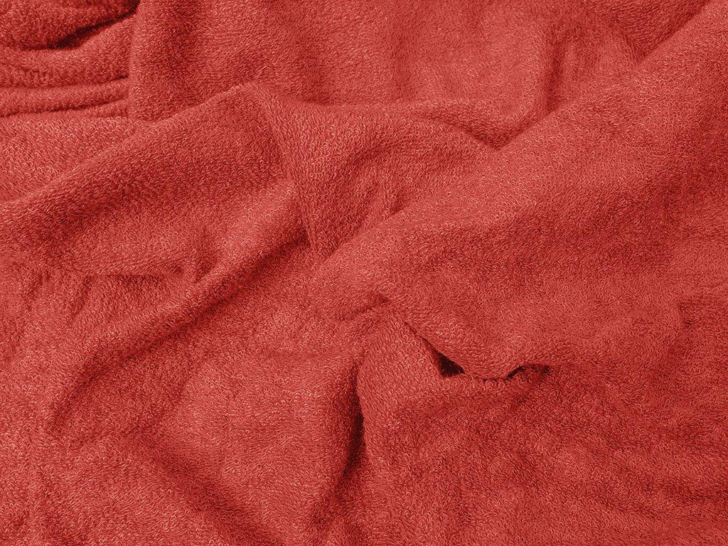 červená froté