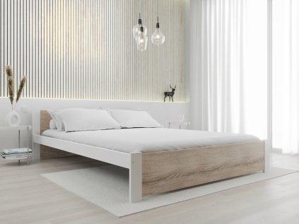 Posteľ IKAROS 160 x 200 cm, biela