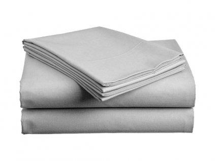 Bavlnená plachta Standard svetlo sivá 140x240 cm
