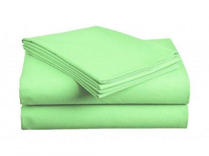 Bavlnená plachta zelená 140x240 cm