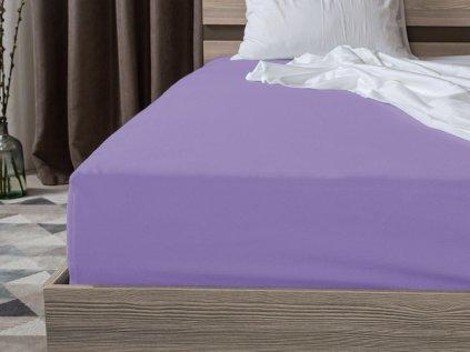 Jersey bavlna svetle fialova