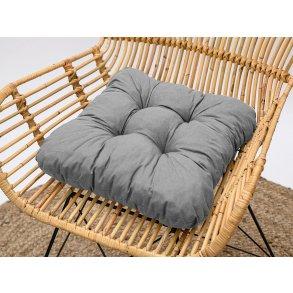 Podložka na stoličku Soft sivá