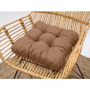 Podložka na stoličku Soft svetlo hnedá