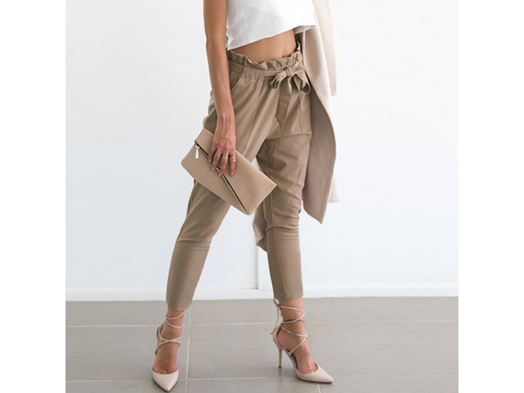 Dámské kalhoty Sharon (Velikost Černá L)