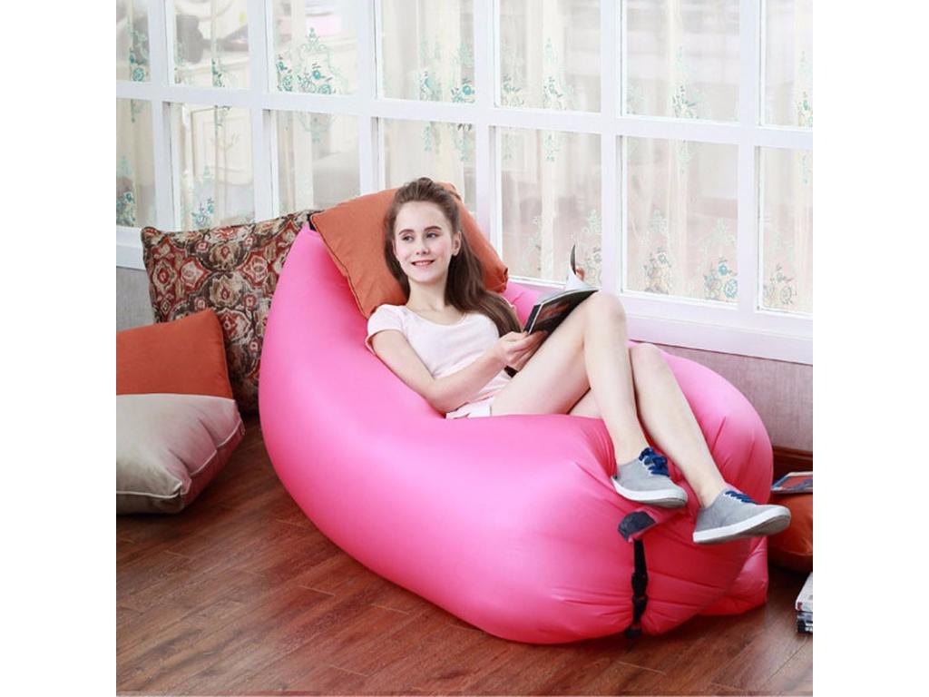Vzduchová sedačka BedWitch - více barev (Barevná varianta Růžová)