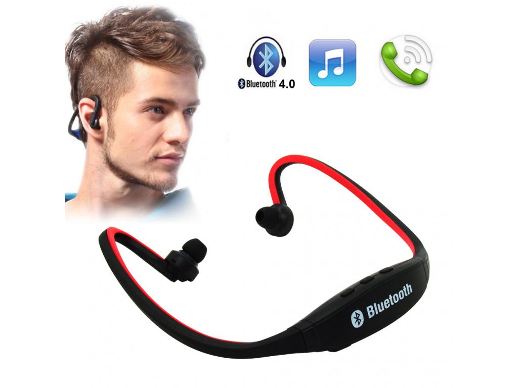 Bluetooth sluchátka Headset (Barevná varianta Modrá)