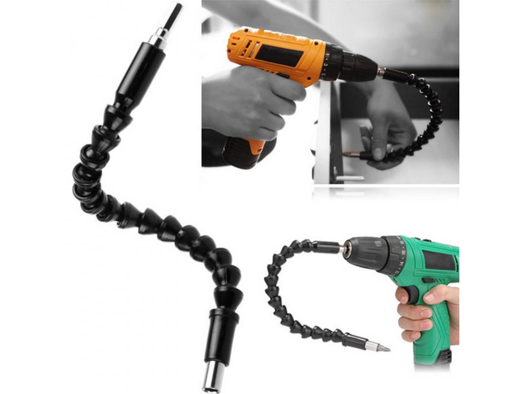 290mm Flexible Shaft Bits Extension Screwdriver Bit Electric Drill Power Tool Accessories (4)