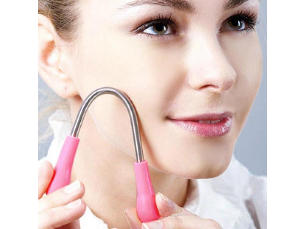 Face Facial Hair Spring Remover Stick Removal Threading Beauty Tool Epilator (2)